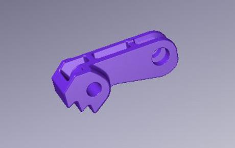 Fixing lever